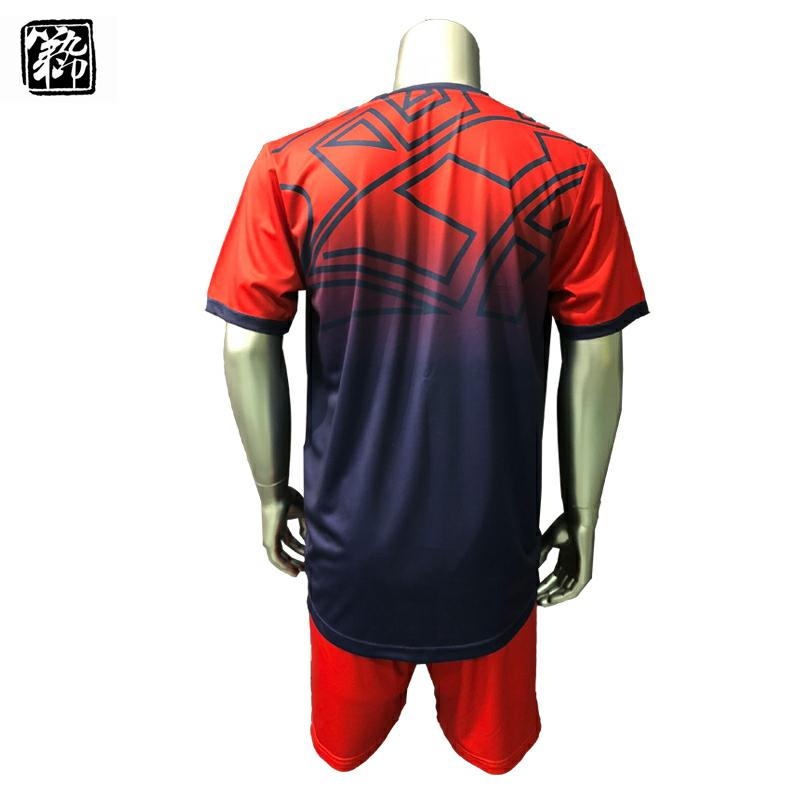 Navy & Red latest soccer jersey design